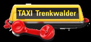 Taxi-Schriftzug